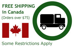 Free Shipping over $50 in Canada