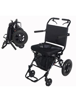 Deluxe Folding Transport Chair