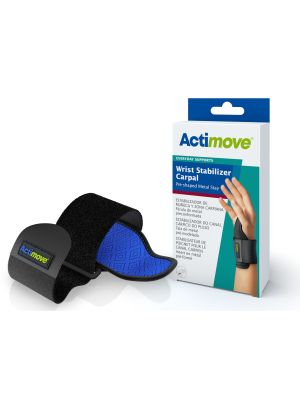 Actimove Wrist Stabilizer Carpal Pre-Shaped Metal Stay