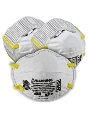 3M 8210 Particulate Respirator N95 - Sold in Boxes of 20