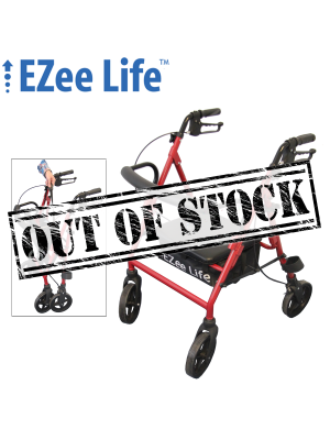 Economy Rollator - Low Seat Height - CH3031
