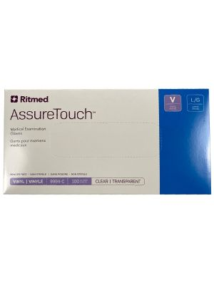 AssureTouch Vinyl Gloves - 100 / Box