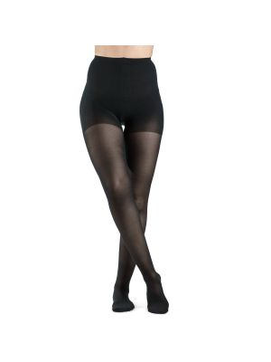 Women's Pantyhose - Sigvaris - EverSheer-20-30mmHg-Black-SS-Closed Toe - Clearance