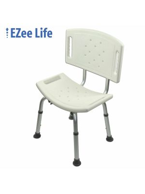 Bath Seat w/Back (toolless)