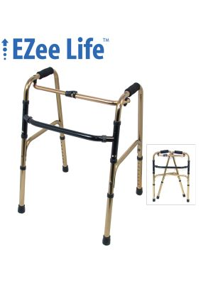 CH1083 Bronze Reciprocal Folding Walker
