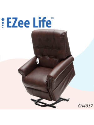 Neptune Top Grain Leather Lift Chair