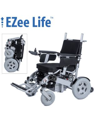 Bariatric Electric Folding Wheelchair