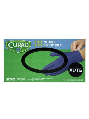 Curad Nitrile Gloves - 250 - 300 / Box