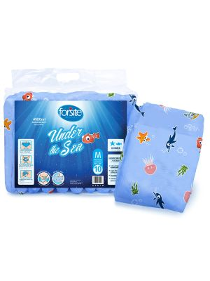 Forsite Health Under Sea Maximum Absorbency Adult Briefs - Case of 30