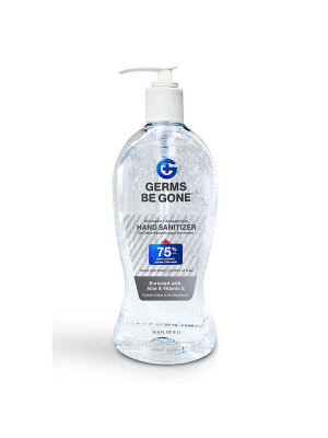 Germs Be Gone Hand Sanitizer - 1,000 ml (33.8 fl. oz.)