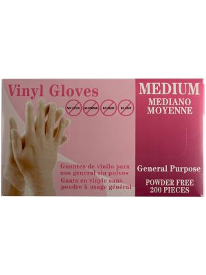 All Purpose Vinyl Gloves - 200 / Box