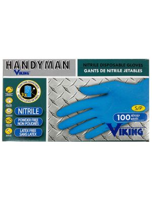 Viking Nitrile Gloves - 100 per Box