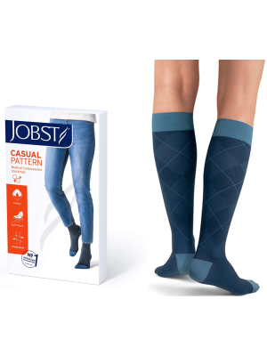 JOBST Casual Pattern - Unisex Calf High