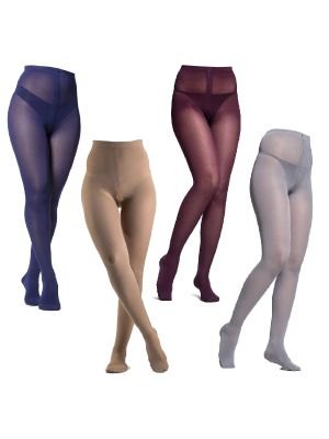 Soft Opaque Compression Stockings