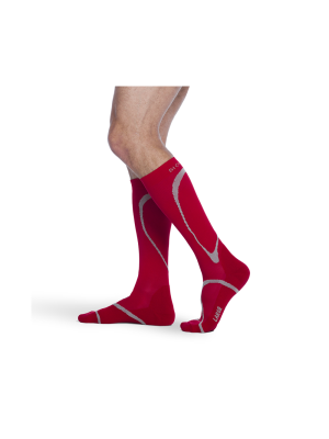 Traverse Performance Socks Red