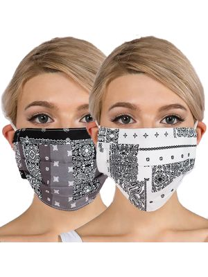 Cotton Bandana Masks - With Two Filters
