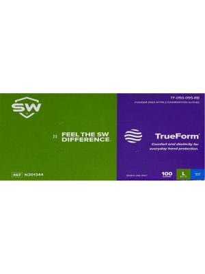 TrueForm Nitrile Exam Gloves - 100 / Box