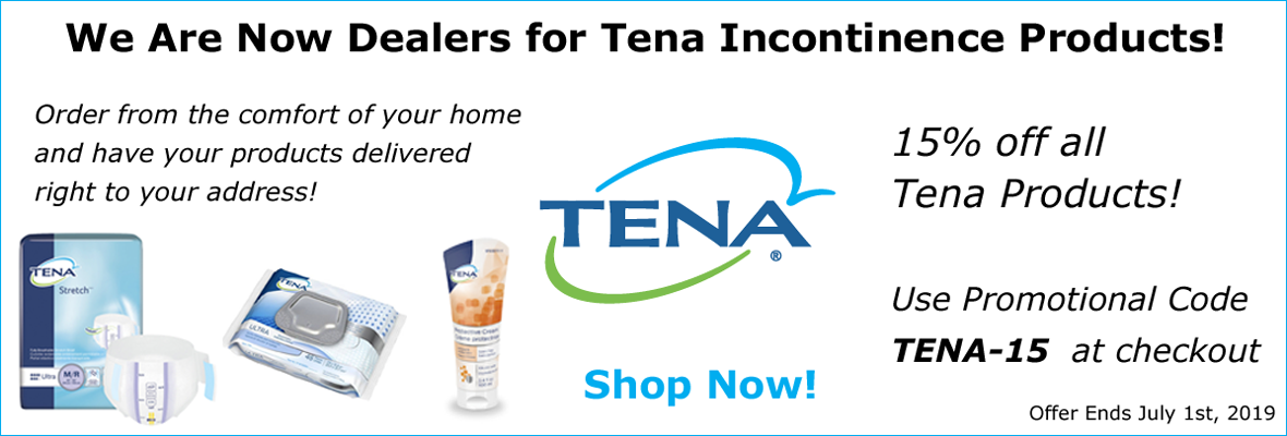 15% off Tena Products