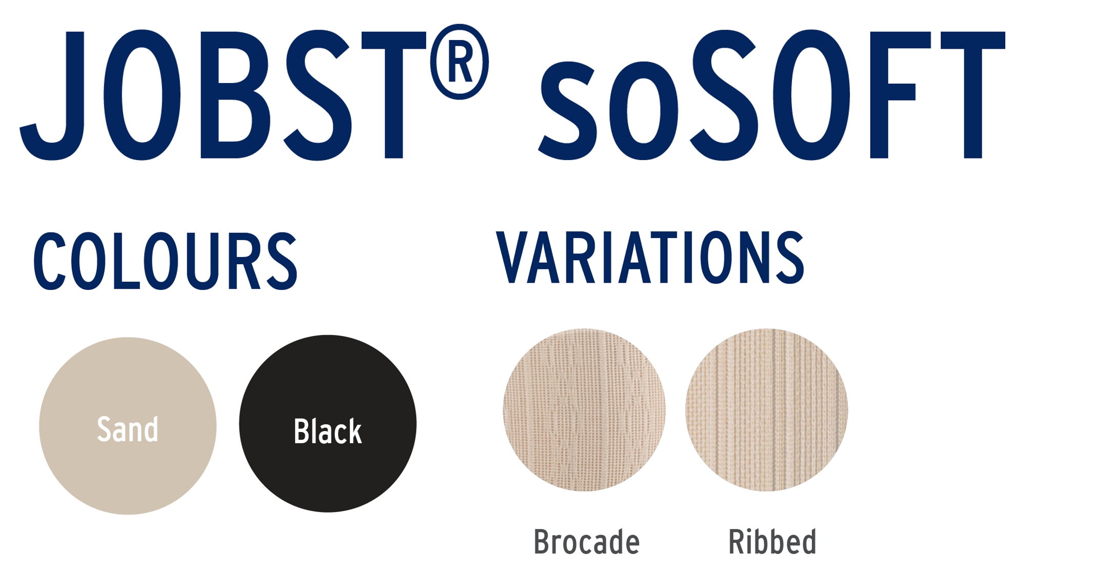 Jobst SoSoft Colours and Band Variations
