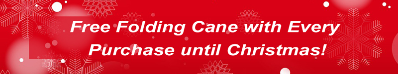 Free Folding Cane with every purchase