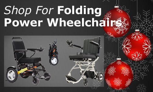 Shop for Folding Power Wheelchairs