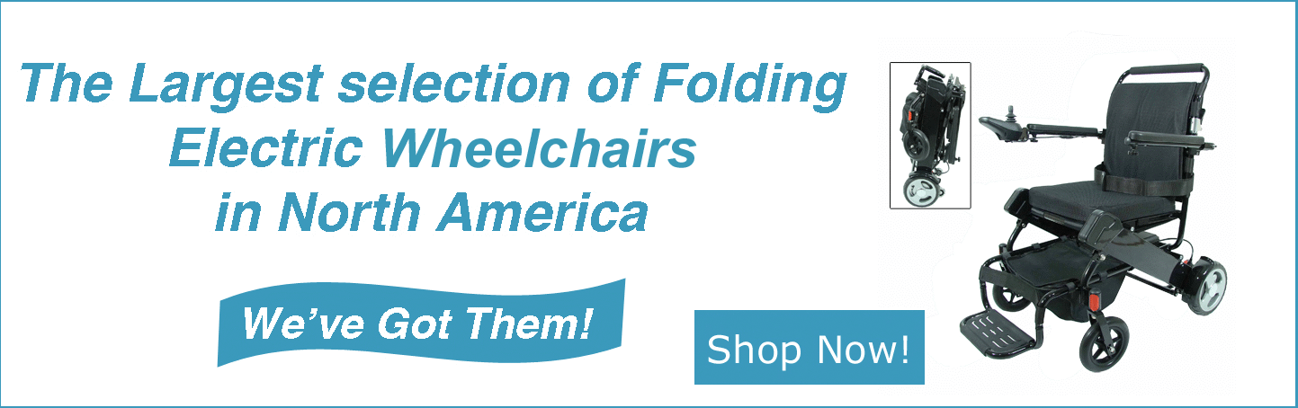 EZee-Fold - The largest selection of power electric wheelchairs in North America